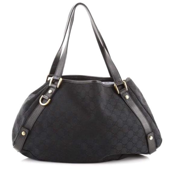 Gucci Abby Shoulder Bag Black.  Like New!